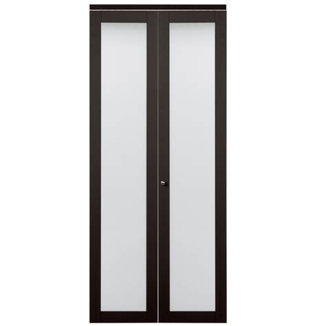 bifold closet doors with frosted glass shop reliabilt frosted glass mdf bi fold closet interior