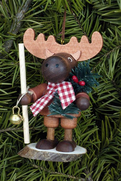 moose ornament tree ornament moose 9 5cm 4in by christian ulbricht