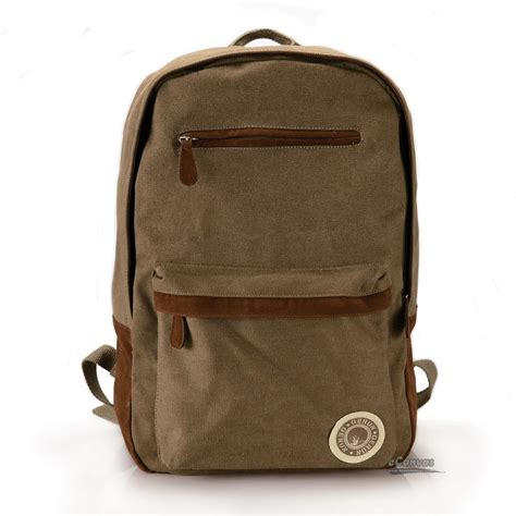 pictures of book bags traveling backpack canvas coffee school book bag e