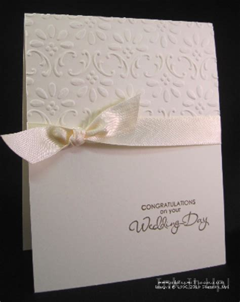 wedding card ideas to make easy wedding card ink it up with card