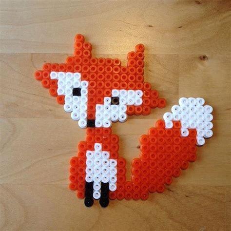 perler bead fox 17 best ideas about iron on hama