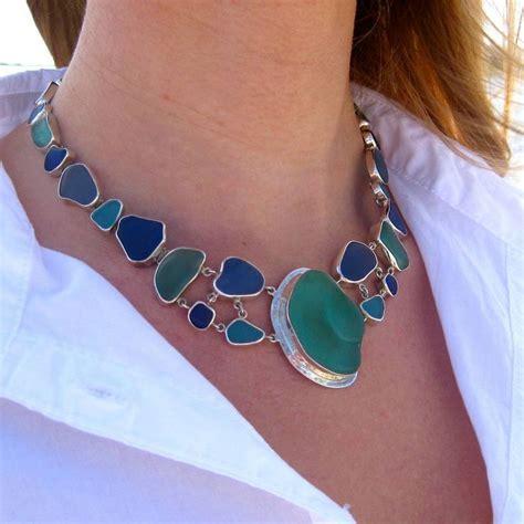 how to make jewelry with sea glass best 25 sea glass jewelry ideas on sea glass