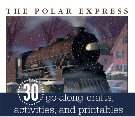 polar express crafts for 30 activities crafts and printables for the polar express