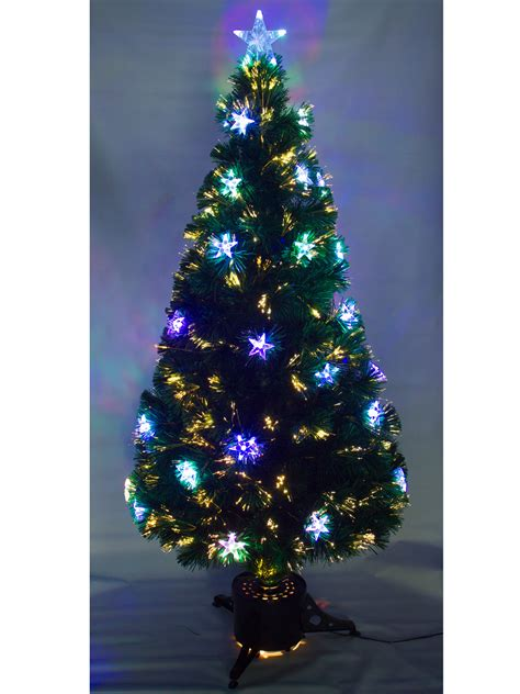 fiber optic tree 5ft 5ft 6ft pre lit fibre optic tree with led
