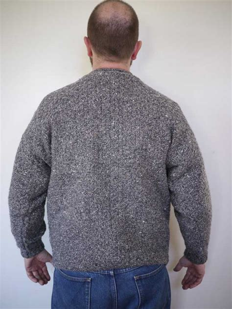 scottish cable knit sweaters vintage scottish chunky cable knit grey 100 wool