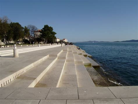 sea organ croatia panoramio photo of zadar croatia sea organ