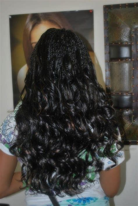 how to braid hair with on the end single braids with curly ends hair that i