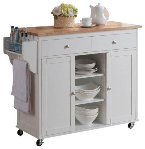modern kitchen island cart baxton studio meryland white modern kitchen island cart
