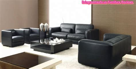 living room with black leather sofa black leather living room sofas chairs designs
