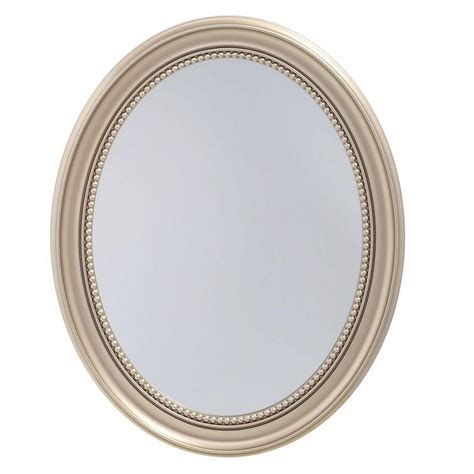 oval medicine cabinet with mirror glacier bay 48 in x 30 in surface mount mirrored medicine cabinet t48 bm the home depot