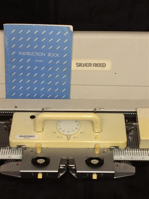 silver reed knitting machine prices for sale