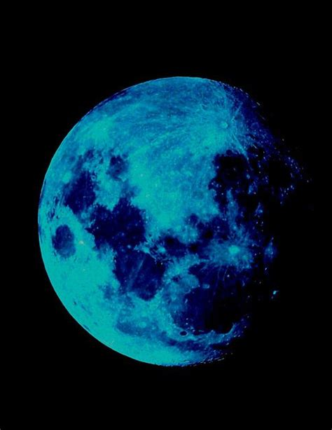blue moon blue moon nature