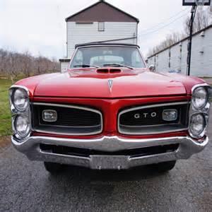 Pontiac 389 Engine For Sale by 1966 Pontiac Gto Montero Unrestored Original