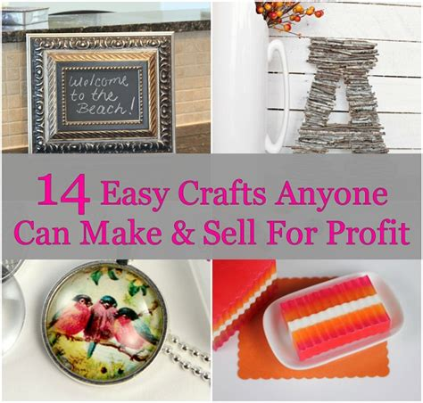 crafts that are easy to make 14 easy crafts anyone can make sell for profit