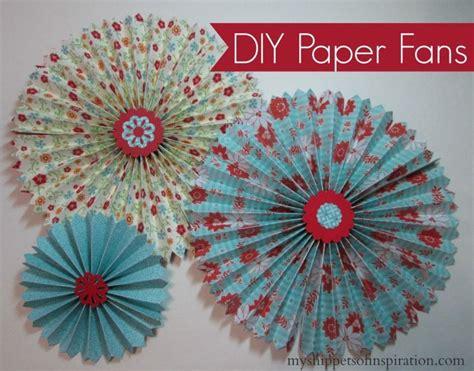 paper fan craft friday flash