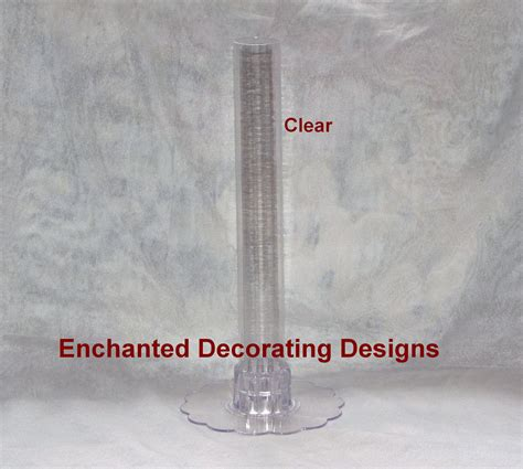 clear plastic cylinder vases 12 quot clear plastic cylinder vase wedding and 50 similar items