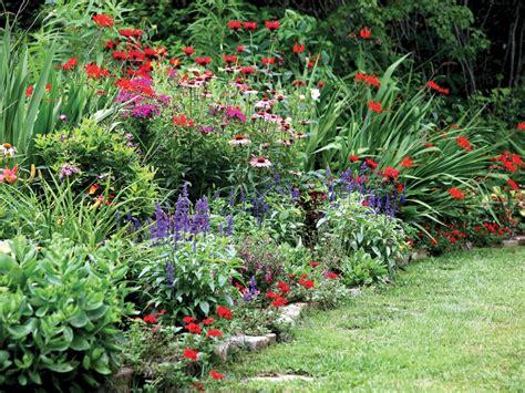 gardens with flowers photos hgtv
