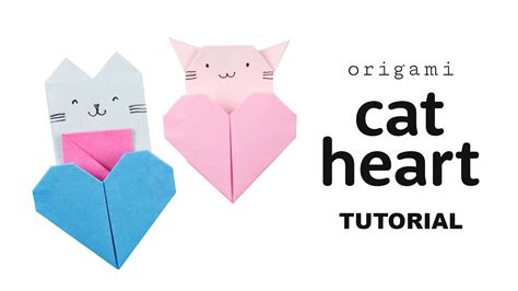 how to origami cat origami cat tutorial diy collab with origami