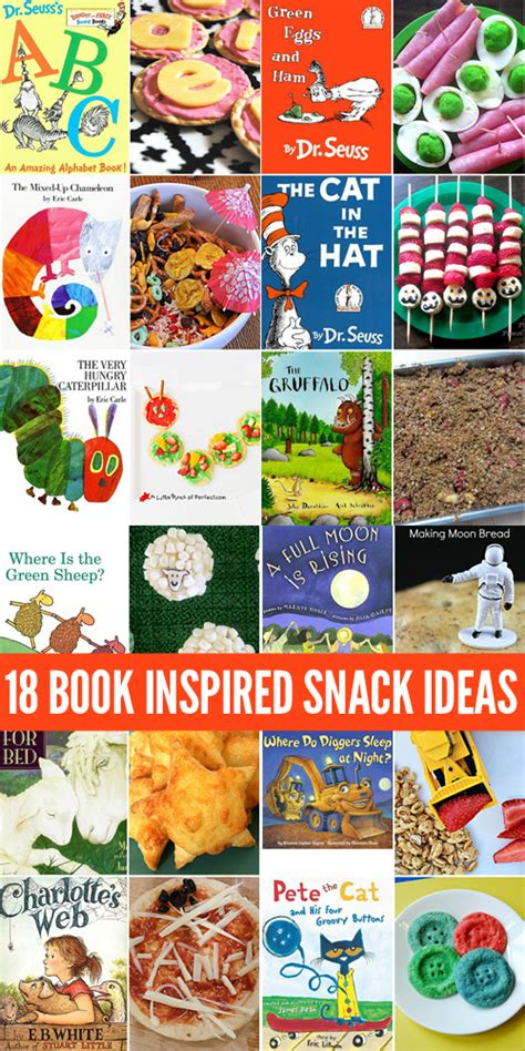 ideas for picture books 18 picture book inspired snacks for childhood101