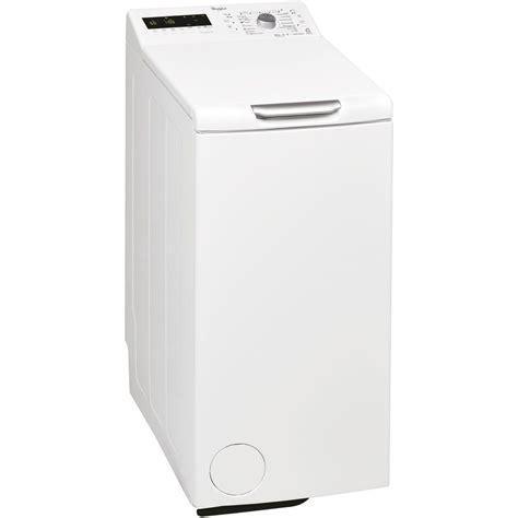 electromenager whirlpool le sens de la diff 233 rence lave linge 224 chargement par le dessus 6 232 me