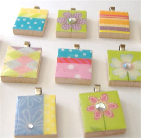 how to make scrabble tiles how to make a scrabble tile pendant think crafts by