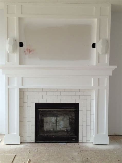 tiled fireplace surrounds 25 best ideas about tiled fireplace on