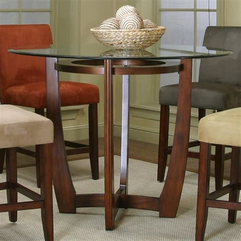 contemporary counter height dining table cramco inc contemporary design parkwood counter height