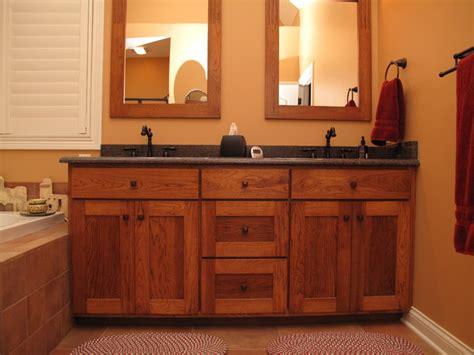 craftsman bathroom vanities craftsman style bathroom vanity cabinets craftsman