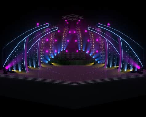House Design Software 3d Download concert stage 3d model obj fbx ma mb cgtrader com