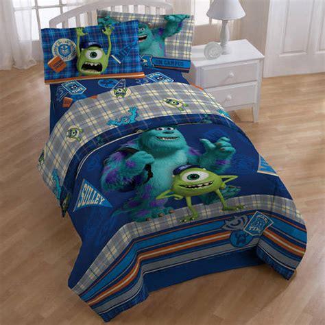 monsters inc bedding set monsters bedding sheet set walmart