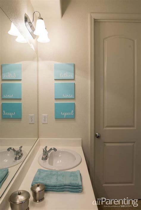 Bathroom Art Ideas 35 fun diy bathroom decor ideas you need right now diy