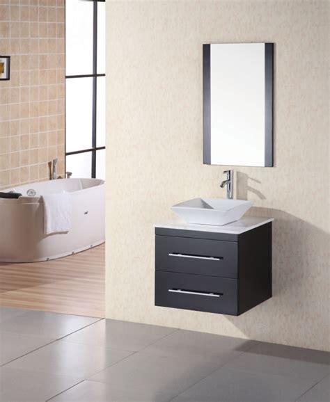 modern single bathroom vanities 24 inch modern single sink bathroom vanity in espresso