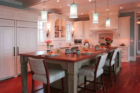 kitchen island with table combination kitchen lights island and table spotlats