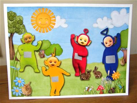 teletubbies cards teletubbies birthday card sweet shoppe gallery