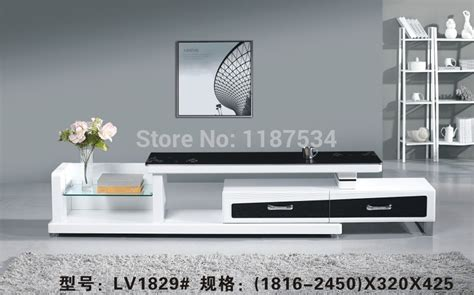 simply modern furniture lv1829 living room wooden glass stretch tv stand modern
