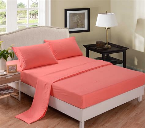bed sheet set total fab coral colored comforter and bedding sets