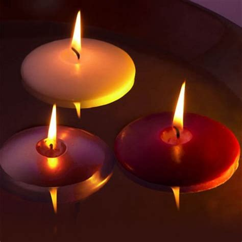 water and floating candles floating candles individual