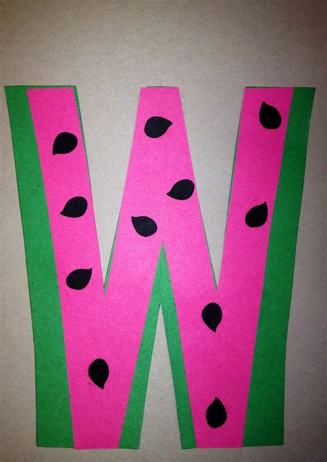 letters for craft projects preschool letter w craft preschool letter crafts