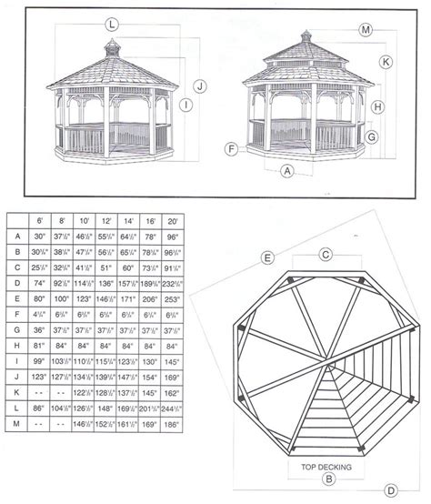 pergola blueprints free free octagon gazebo plans pergola design ideas