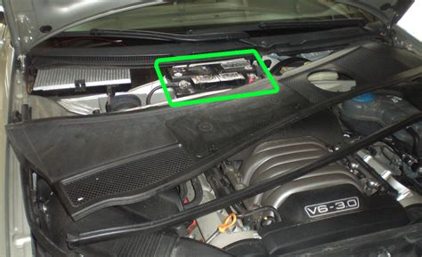 Audi Car Battery by Audi A6 Car Battery Location