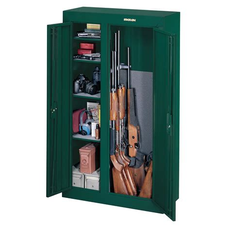 stack on 10 gun door cabinet stack on 10 gun door security cabinet