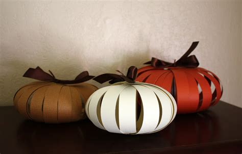 paper pumpkin craft paper pumpkins a and easy autumn craft one