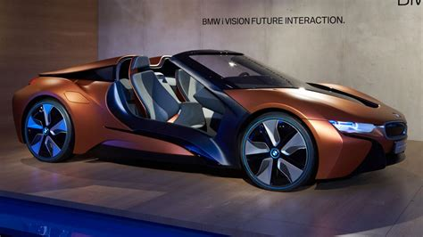 Bmw Future by This Bmw I8 Concept Previews The Future Of Car Electronics