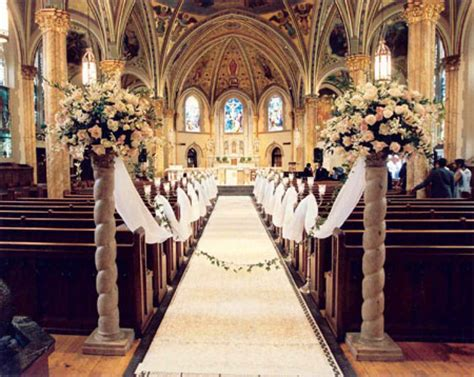 church decorations pictures church wedding decoration add blessedness to your