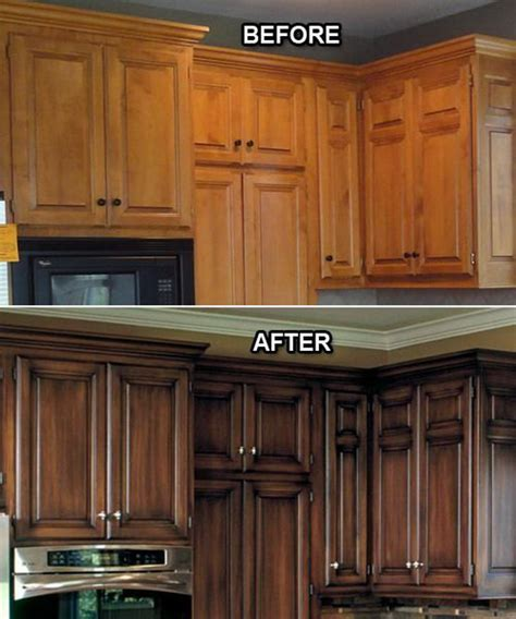 Crown Molding On Kitchen Cabinets Pictures by Before And After 25 Budget Friendly Kitchen Makeover