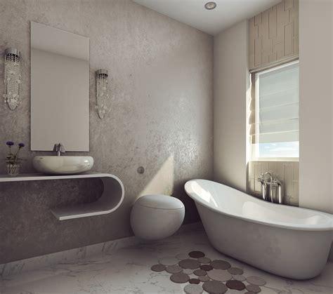 bathroom model modern earthy design bath room free 3d model max