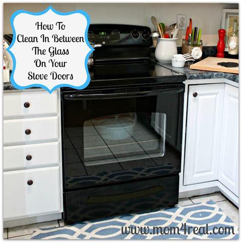 how to clean oven glass door how to clean an oven door in between the glass 4 real