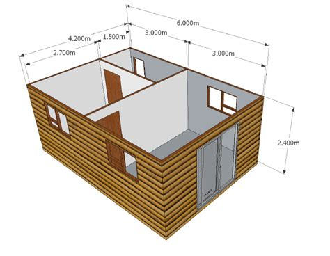 1 bedroom unit 25 2m2 wendy houses pretoria and cape