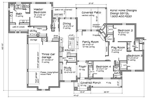 floor plans for house s3112l house plans 700 proven home designs by korel home designs