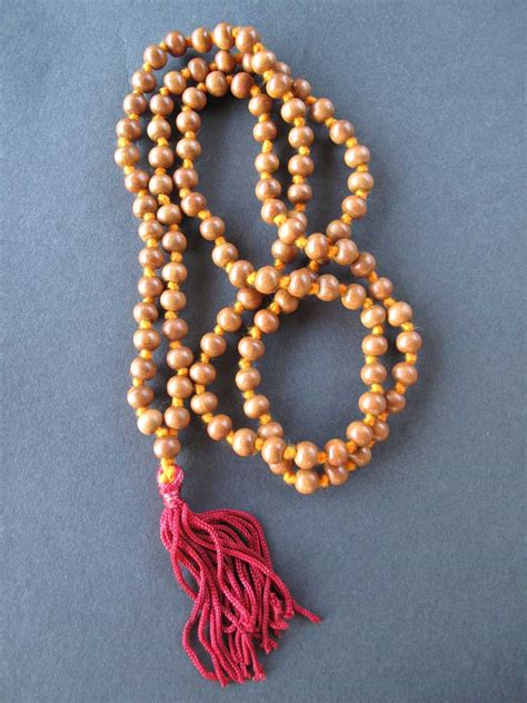 mala sandalwood sandalwood 108 bead malas the bookstore at the vedanta